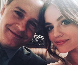 lucy hale, pretty little liars, and chad lowe image