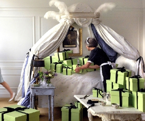 bedroom, style, and presents image