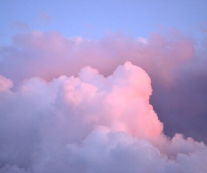 sky, gif, and clouds image