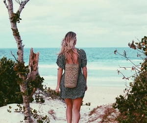 beach, fabulous, and girl image