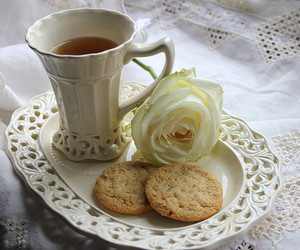 afternoon, biscuits, and china image