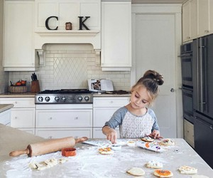 child, baby, and baking image