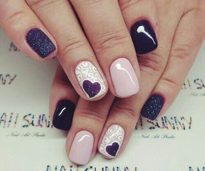 nails, elegant, and fashion image