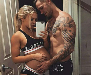 couple, naked, and daddy image