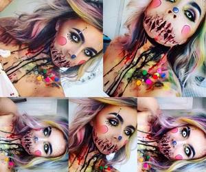diy, Halloween, and make-up image