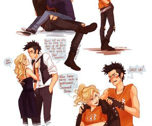 percy jackson, percabeth, and viria image