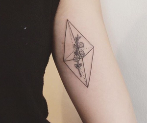 tattoo and minimalist image