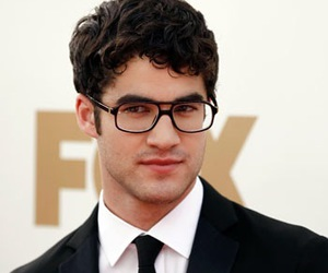 glee, darren criss, and red carpet image