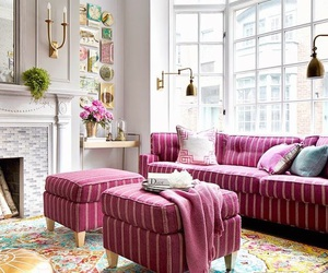 pink, design, and house image