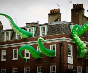 london, monster, and green image
