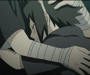 sasuke, anime, and itachi image