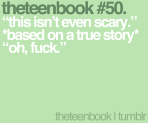book, fuck, and horror image