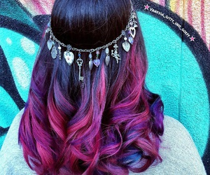 accessories, colour, and dyed image