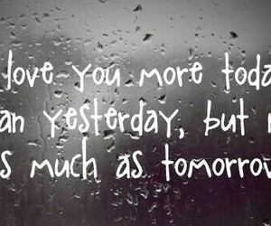 love, quotes, and tomorrow image