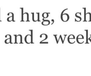 hug, i love u, and quote image