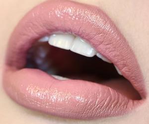 lips, makeup, and beauty image