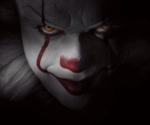 it, Stephen King, and clown image