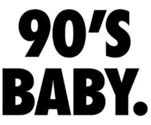 90s and baby image