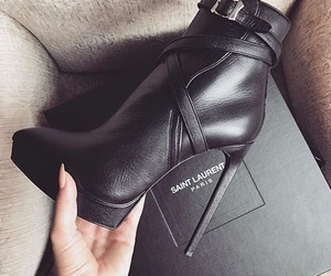 babe, heels, and YSL image
