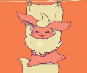 pokemon and flareon image
