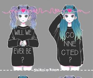 kawaii and shiroi image