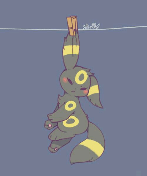 pokemon, umbreon, and cute image