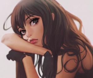 anime, boy, and dress image