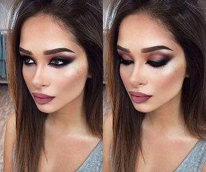 makeup, eyebrows, and lips image