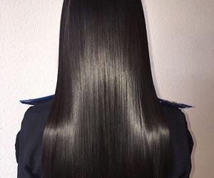 fashion, long hair, and woman girl image