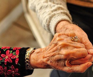 couple, hands, and strong image
