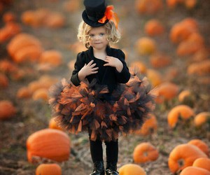 pumpkins, Halloween, and cute image