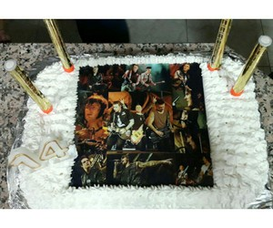 a7x, avenged sevenfold, and bday cake image