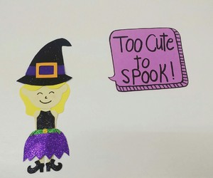 girl and spook image