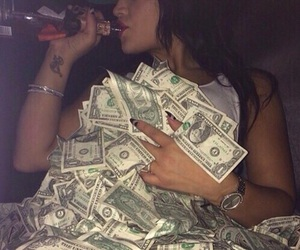 money, rich, and luxury image