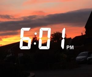 orange, red, and sunset image