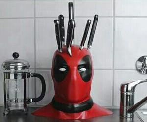 deadpool, kitchen, and Marvel image