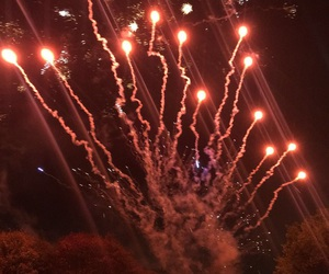 fireworks, Halloween, and park image