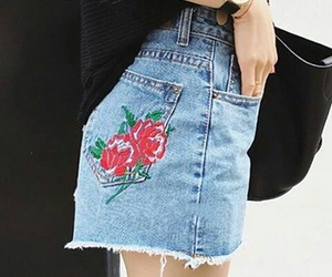 jeans and patch image