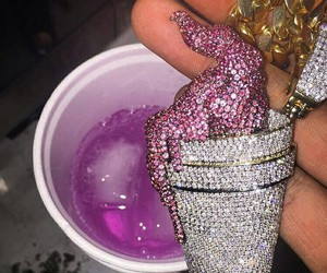 drink, lean, and purple image