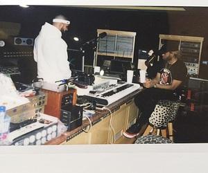 Drake, music, and polaroid image