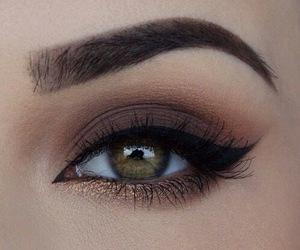 eyeliner, eyeshadow, and eyes image