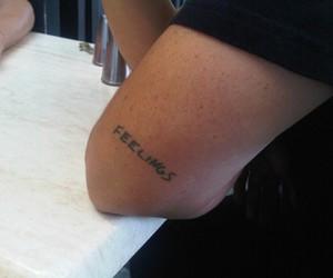 feelings and tattoo image