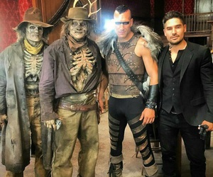 cast, from dusk till dawn, and dj cotrona image