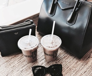coffee, fashion, and purse image
