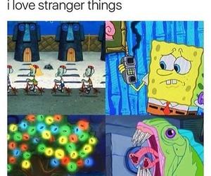 stranger things and meme image