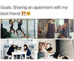 goals, friends, and best friends image