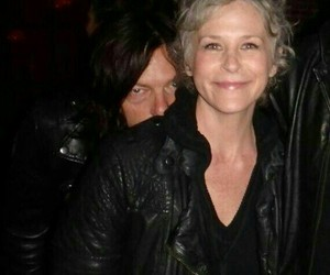 the walking dead, rick grimes, and caryl image