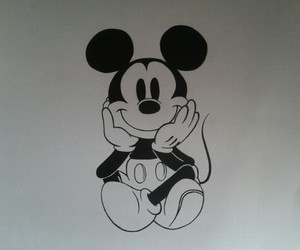 mickey mouse and walt disney image
