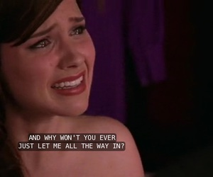 love, one tree hill, and cry image