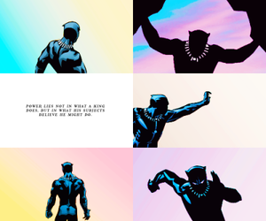 aesthetic, Avengers, and black panther image